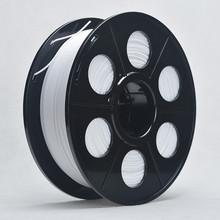 3D Printer ABS Filament 3mm 1kg Spool for 3D Printing  No bubble About 135m White Color Tolerance 0.02mm For MakerBot RepRap UP