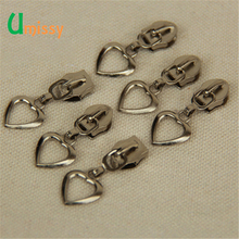 Heart Shape Zipper Sliders Classic Zipper Head for Garment Bag Suitcase Accessories