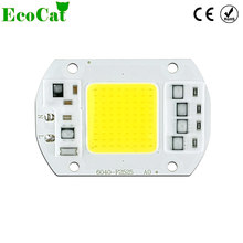 ECO CAT COB LED Lamp Bulb 50W 30W 20W 220V Input LED Chip Smart IC Fit No Driver High Lumens For DIY LED Flood Light Spotlight
