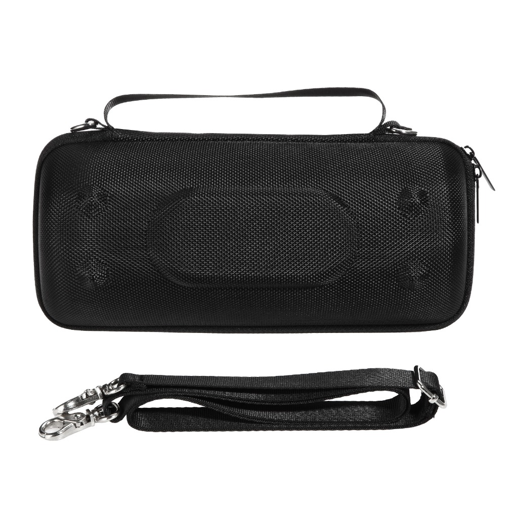 New PU Portable Carry Travel Protective Speaker Cover Case Pouch Bag For JBL Charge 3 Charge3 Bluetooth Speaker (With Belt)