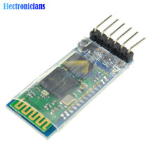 HC05 HC-05 Master Slave 6Pin JY-MCU Anti-reverse RF Transceiver Wireless Bluetooth Serial Module 3.3V for Arduino(China)