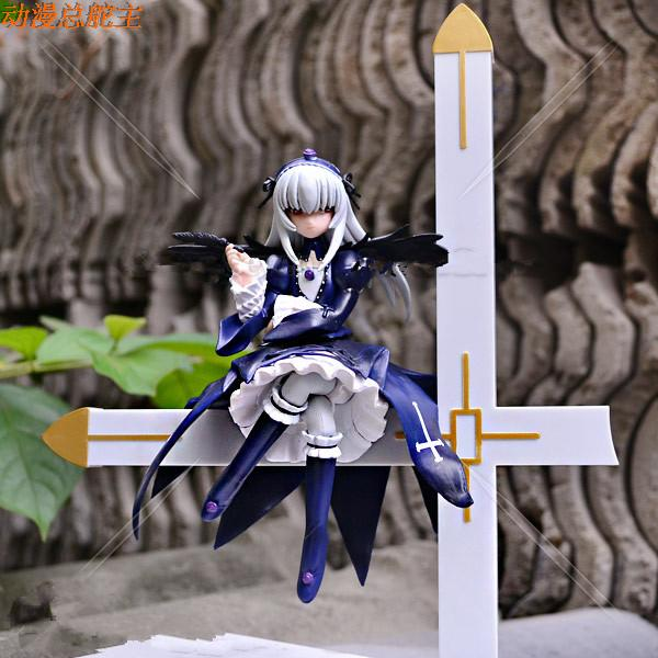 Rozen Maiden Action Figure Suigintou Pvc 22cm Anime Model Toys Rozen Maiden Japanese Anime Figures Rozen Maiden<br><br>Aliexpress