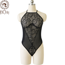 Buy Leechee Y140 women sexy lingerie lenceria sexo net yarn hang neck perspective siamese clothing porn costumes erotic underwear