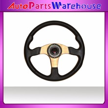 "14"" MOMO PU Steering Wheel / 350MM MOMO Steering Wheel PU / MOMO Sport Steering Wheel Racing Car Steering Wheel"