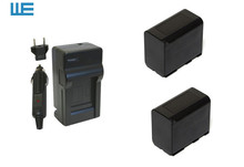 2XBP-941,BP-945, BP941, BP945 Camcorder Battery and Charger for Canon XL1 XL2 GL1 GL2 XH A1 G1 XL GL-1 GL2 XL1 XM1 XM2 930