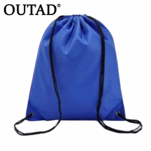 OUTAD Durable Convenient 41cm x 33cm Swimming bags Drawstring Beach Bag Sport Gym Waterproof Backpack Swim Dance New Style(China)
