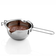 Stainless Steel Butter Heating Pot Chocolate Separated Water Melting Bowl Home Baking Tool 400ml Creative Life Cooking Tools
