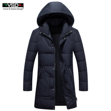 VSD Brand 2017 Cotton-Padded Clothing Casual Men's Jackets High Quality Fashion Autumn Winter Coats Outwear Jacket Parkas VS818(China)
