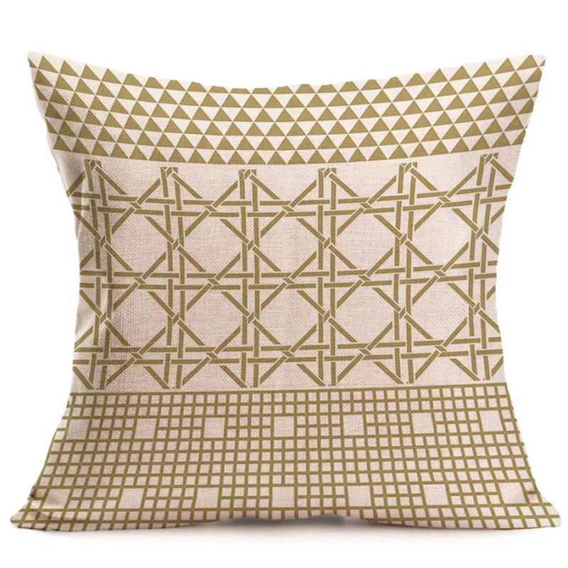 New Bohemian Pattern Throw Pillow Cover Car Cushion Cover Pillowcase Home Decor07