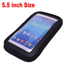 Top Quality Waterproof 5.5 inch Universal Bicycle Bike Motorcycle Handlebar Phone Mount Holder Case For Samsung Note 1 2 3 S5
