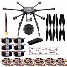 ZD850 Frame Kit with Landing Gear +Hub 350KV Brushless Motor 40A ESC 1555 Propellers For RC DIY FPV Aircraft Hexacopter F19833-E(China)