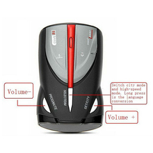 For 16 Band Car Radar Detector Cobra XRS 9880 Russian & English Language Lacer Anti Radar Detector for Driving(China)
