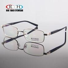 Óculos Full Frame Homens Mulheres Óculos de Marca Homens Vidros Ópticos  Quadro Prescrição Óculos de design Retangular fc36fd3469
