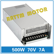 EU Delivery! 500W 60V Switch Power supply! DC power CNC Router  Single Output Foaming Mill Cut Laser Engraver Plasma 20A