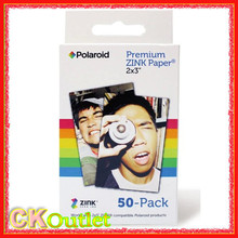 50 PCS Premium ZINK Zero Ink Paper Z2X350 for Polaroid Instant Photo Camera Z2300 2x3 50pcs with Free Gift
