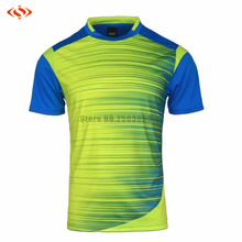 Hot Sale Good Quality Mens Football Jerseys Shirt Soccer Training Shirts Jerseys Breathable Custom Football Jerseys Name Number(China)