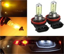 12V 55W 3000K H11 Car Fog Light Bulb Lamp Super White Halogen Xenon Car Auto Head Lamp Cars H11 Car Styling 2pcs