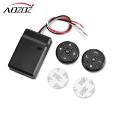 AOZBZ Smart Car Steering Wheel Remote Controller Car Remote Controls Navigation Compatibility With DVD Navigation Systems(China)