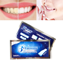 1PC White Smaile Clinic Professional Dental Teeth Whitening Strip Tooth Whitening Strip Tooth Bleaching Whiter Whitestrips Set(China)