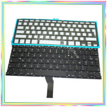 "Brand new AZERTY FR French France Keyboard with Backlight for Macbook Air 13.3"" A1369 A1466 2011-2014 Years(China)"