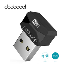 dodocool Mini USB WiFi Adapter 150Mbps Wifi Antenna Network Card USB2.0 Adapter Wi-Fi Dongle 2.4GHz Wireless Adapter 802.11n/b/g(China)