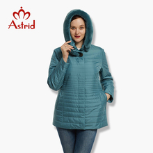 2017 Astrid Big Size Winter Women's Jacket Coat Warm down jacket Women's large Parkas New Winter Cotton Outwear AM-6229(China)