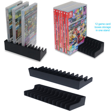 2pcs/lot Game Card Box Storage Stand CD Disk Holder Support For Nintendo Nintend Switch NS For 24pcs CD Disks or Card Holders