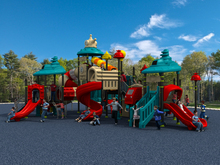 Sai Ya Hao Series amusement outdoor playground equipment for park YLW-1738