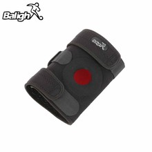 Ship From US&CN 1Pc Sports Protection Safety 4 springs MTB Mountaineering knee brace pad cycling knee protector sport safety(China)