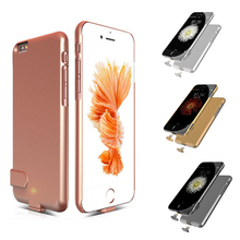 High Quality Ultra Thin Rechargeable Backup External Battery Charger Case For iPhone 6 6S 7 Plus Power Bank Cover Case
