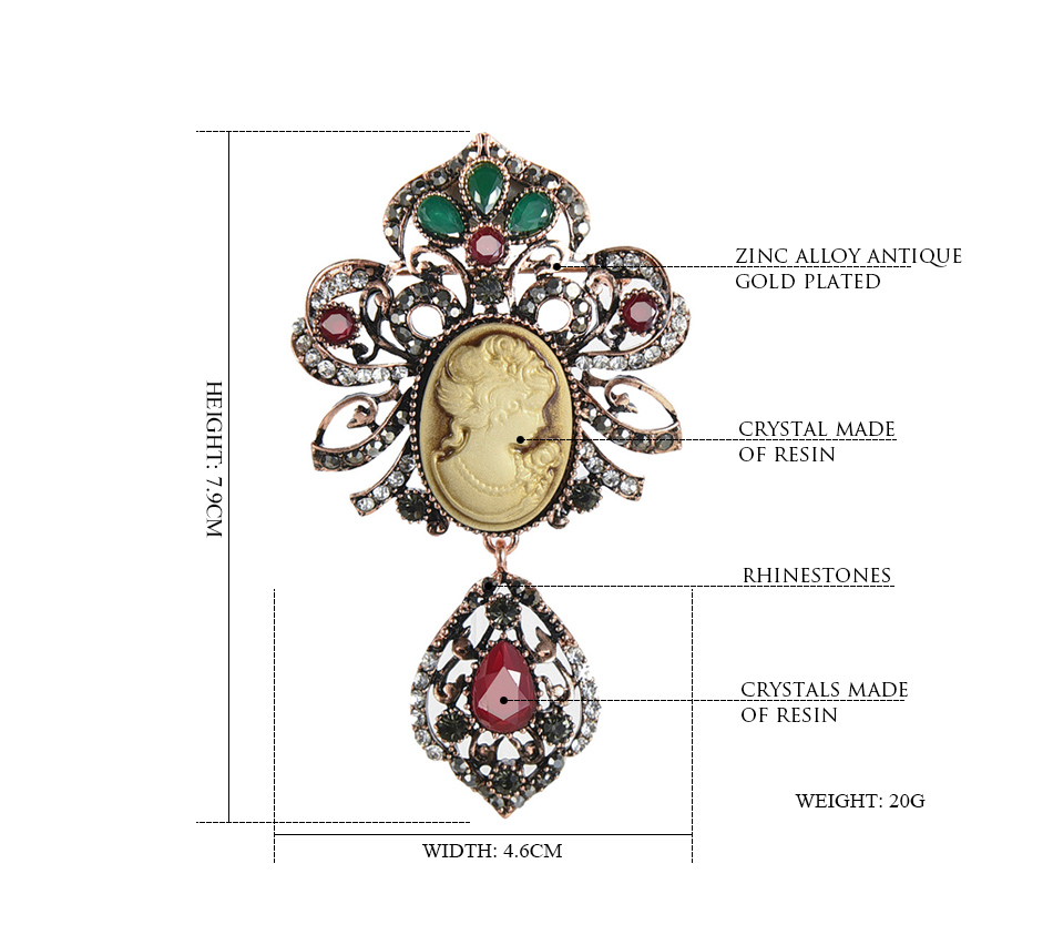 Ethnic-style-Vintage-Queen's-Cameo-Crystal-Brooch-Pins_01