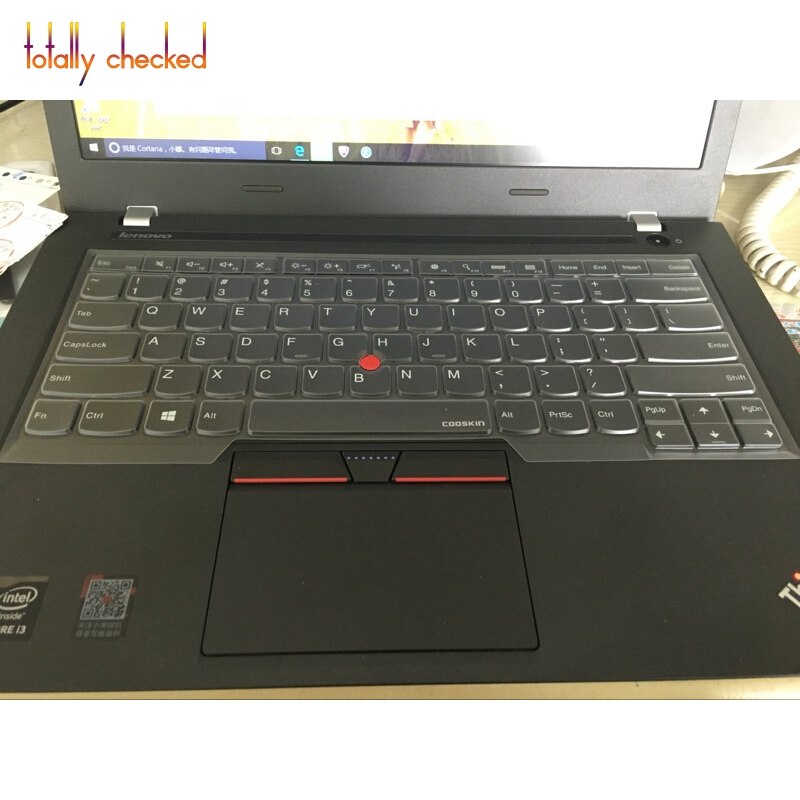 Keyboard Cover Skin Protector for Lenovo ThinkPad T480 T480S A475 E480 L380 L480