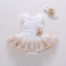 Elegant New Arrival Direct Selling Girl Dress Girls 2017 Summer Fashion Big Party Tulle Flower Princess Wedding Dresses Baby