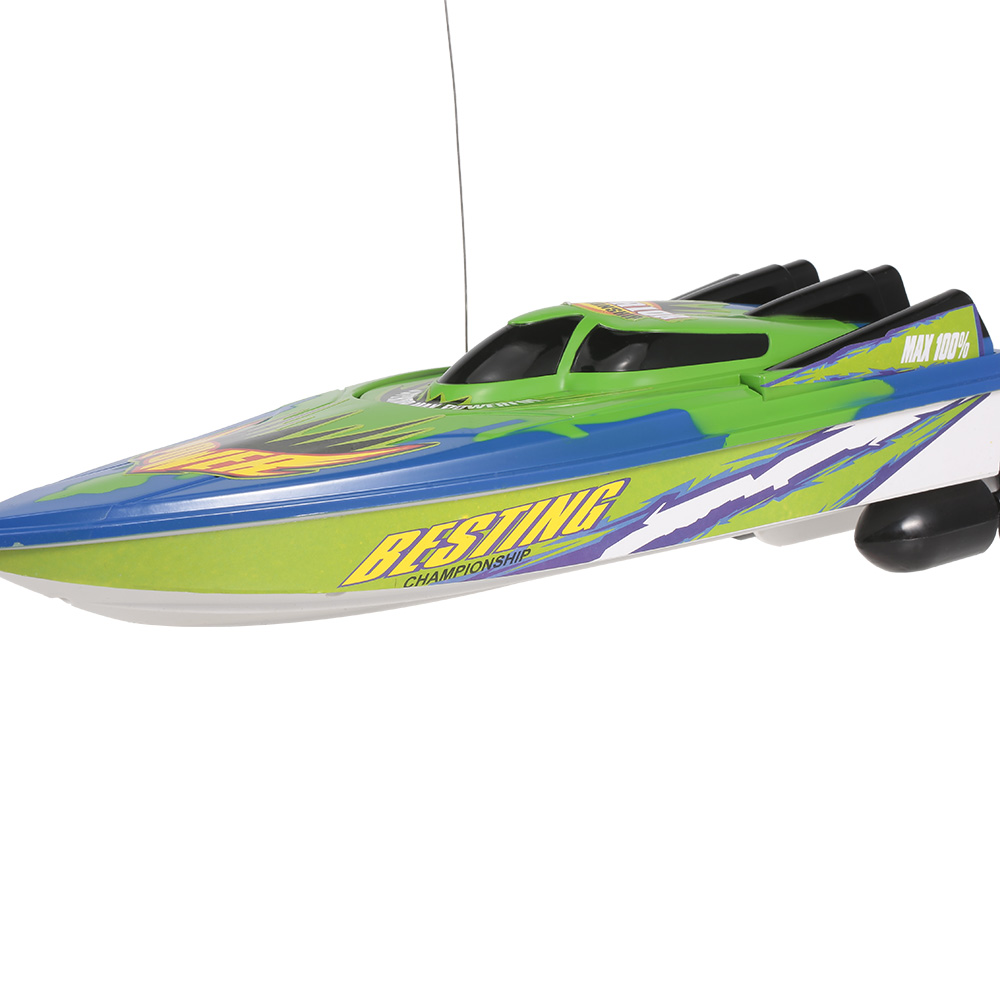 Radio Control Racing Boat RTR Electric Speedboat Ship RC Boat Model RC Toys with 4.8V 700mAh Rechargeable Battery (6)