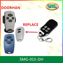 2pcs free shipping cost !! DOORHAN Replacement Rolling Code Remote Control Transmitter Gate Key Fob(China)