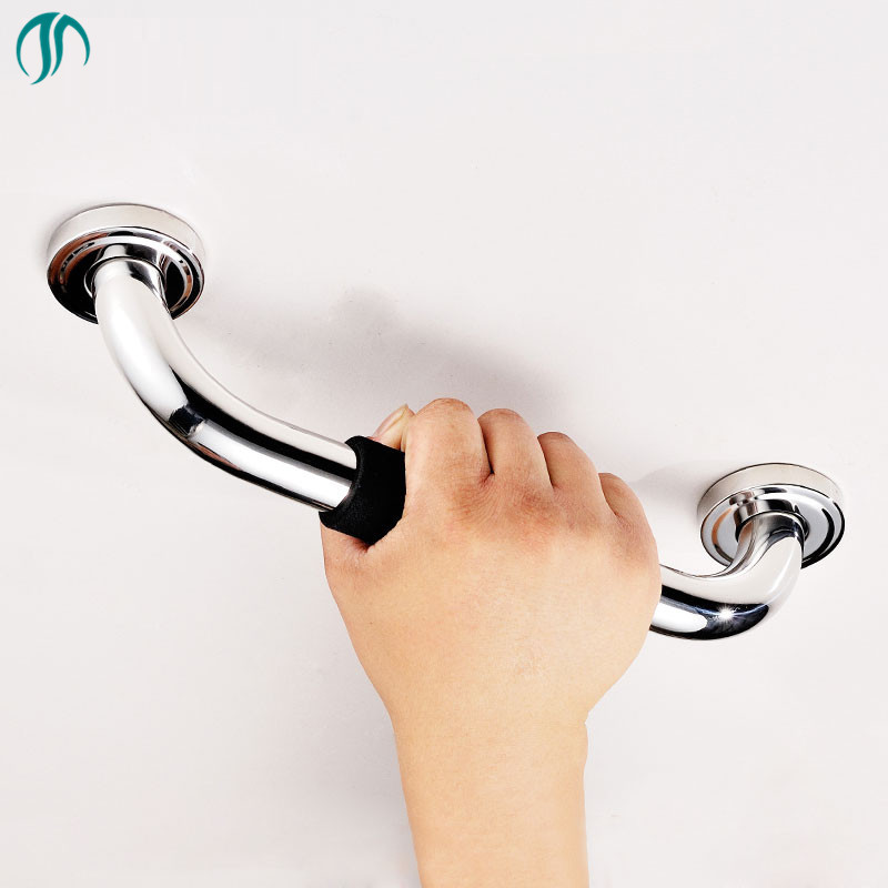 Toilet Elderly Grab Bar Disabled Railing Grips Stainless Handrail Bathtub  With Foam Handle Bathroom Accessories Handrails