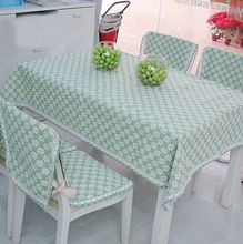 New arrival fashion pastoral khaki green plum table cloth cotton dining chair cushion cover different sizes