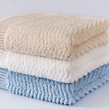 3pcs cotton luxury brand Cotton Towel Set Face Towels For Adults Washcloths High Absorbent Antibacterial 34x76cm