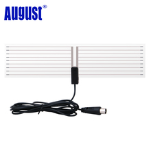 August DTA400 Digital TV Antenna for USB TV Tuner / Digital Television / DAB Radio Portable Indoor Antennas With Magnetic Mount