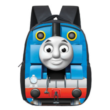 Thomas School Backpack For Boys Cartoon Backpacks Children Backpack Kids School Bags Kindergarten Backpacks Kids Daily Bag Gifts(China)