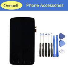 10pcs tools+New Black Color For HTC One S Z520E LCD Display and Touch Screen Digitizer Assembly Without Frame