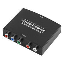 1080P HD Clear HDMI To RGB Component YPbPr video and R/L audio Adapter Converter