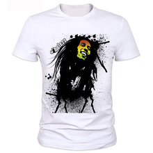 Factory direct sale 2016 hot sale t shirt BOB marley short sleeve 3D print street hip hop style breaking bad t shirt 76#(China)