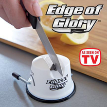 Edge Of Glory Secure Suction Grip knife Sharpener Tungsten Sharpening Angle Bracket  Kitchen Sharpening Tools