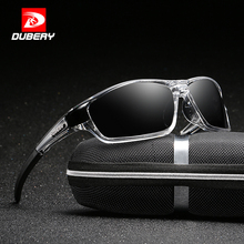 Buy DUBERY Sunglasses Men Polarized Driving Sport Sun Glasses Men Women Square Luxury Brand Designer Zipper Box 620 for $9.78 in AliExpress store