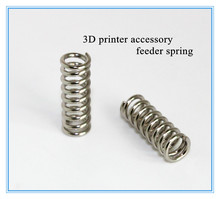 10pcs/lot 3D printer accessory feeder spring for Ultimaker Makerbot Wade extruder nickel plating 1.2mm 20 mm high quality