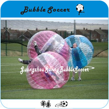 free shipping 1.0m 100% TPU soccer bubble, soccer bumper ball, bubble football with nice factory price