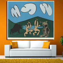 Wholesale - Famous paintings Picasso abstract oil painting The abstract wall art decoration picture printed on canvas wall decor