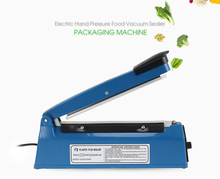Portable Electric Vacuum Food Sealer Machine Hand Pressure Household Food Vacuum Sealer Packaging Machine Plastic Sealing Tools(China)