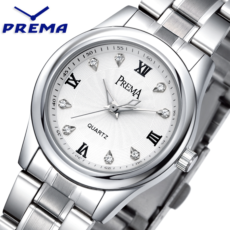 Relogio Feminino PREMA Mens Watches Top Brand Luxury Casual Sport Watches Stainless Steel Waterproof wristwatches Montre Femme<br><br>Aliexpress